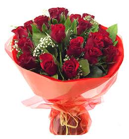 Çankırı çiçekçi mağazası  11 adet kimizi gülün ihtisami buket modeli