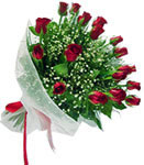 Çankırı İnternetten çiçek siparişi  11 adet kirmizi gül buketi sade ve hos sevenler