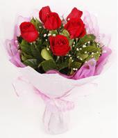 9 adet kaliteli görsel kirmizi gül  Çankırı çiçek online çiçek siparişi