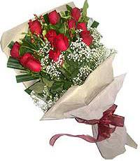11 adet kirmizi güllerden özel buket  Çankırı çiçek yolla