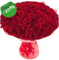 Özel mi Özel buket 101 adet kırmızı gül  Çankırı çiçekçi mağazası