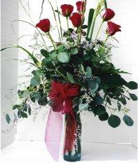 Çankırı çiçek yolla , çiçek gönder , çiçekçi   7 adet gül özel bir tanzim