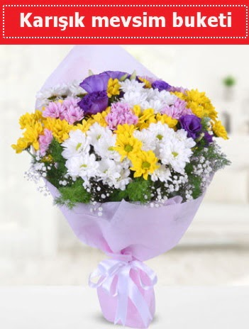 Karışık Kır Çiçeği Buketi  Çankırı online çiçek gönderme sipariş