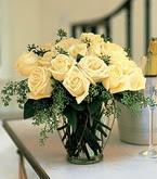Çankırı çiçek yolla , çiçek gönder , çiçekçi   11 adet sari gül mika yada cam vazo tanzim