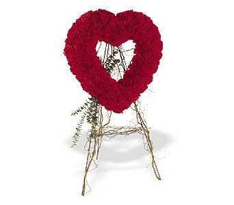 Çankırı İnternetten çiçek siparişi  karanfillerden kalp pano