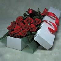 Çankırı çiçekçi telefonları  11 adet gülden kutu