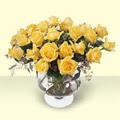 Çankırı çiçek servisi , çiçekçi adresleri  11 adet sari gül cam yada mika vazo içinde