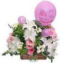 balon ve çiçeklerle tanzim  Çankırı İnternetten çiçek siparişi