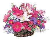 küçük karisik özel sepet   Çankırı internetten çiçek satışı