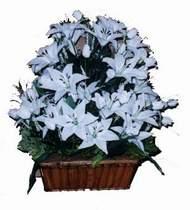 yapay karisik çiçek sepeti   Çankırı çiçekçi telefonları