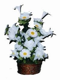 yapay karisik çiçek sepeti  Çankırı çiçek gönderme