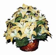 yapay karisik çiçek sepeti   Çankırı çiçek yolla , çiçek gönder , çiçekçi