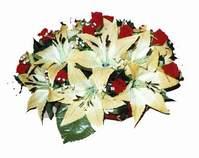 yapay karisik çiçek sepeti   Çankırı çiçek yolla
