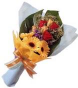 güller ve gerbera çiçekleri   Çankırı anneler günü çiçek yolla