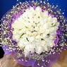 71 adet beyaz gül buketi   Çankırı kaliteli taze ve ucuz çiçekler