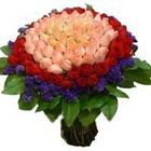 71 adet renkli gül buketi   Çankırı güvenli kaliteli hızlı çiçek