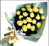 sari güllerden sade buket  Çankırı kaliteli taze ve ucuz çiçekler