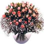 büyük cam fanusta güller   Çankırı hediye sevgilime hediye çiçek