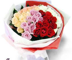 SEVENLERE ÖZEL 51 ADET GÜL  Çankırı İnternetten çiçek siparişi