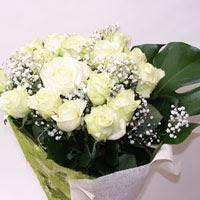 Çankırı yurtiçi ve yurtdışı çiçek siparişi  11 adet sade beyaz gül buketi