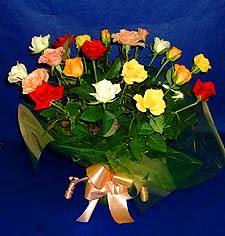 Çankırı yurtiçi ve yurtdışı çiçek siparişi  13 adet karisik renkli güller