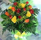 13 adet karisik gül buketi demeti   Çankırı ucuz çiçek gönder