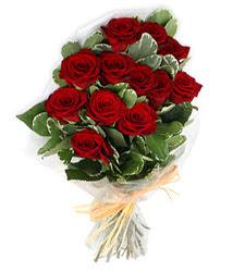 Çankırı uluslararası çiçek gönderme  9 lu kirmizi gül buketi.