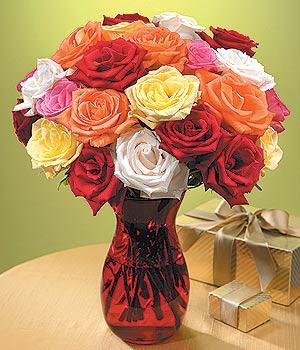 Çankırı çiçekçi mağazası  13 adet renkli gül