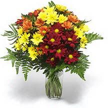 Çankırı çiçek yolla , çiçek gönder , çiçekçi   Karisik çiçeklerden mevsim vazosu