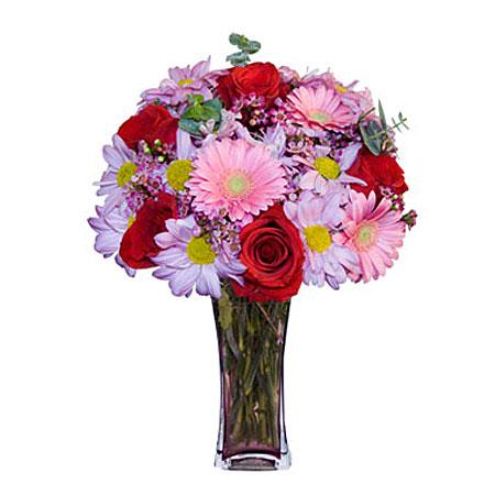 Görsel hediye karisik cam mevsim demeti  Çankırı online çiçekçi , çiçek siparişi