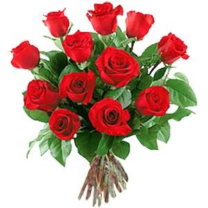 11 adet bakara kirmizi gül buketi  Çankırı online çiçek gönderme sipariş