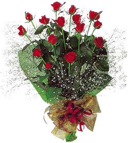 11 adet kirmizi gül buketi özel hediyelik  Çankırı online çiçekçi , çiçek siparişi