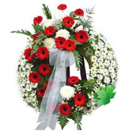 Cenaze çelengi cenaze çiçek modeli  Çankırı ucuz çiçek gönder