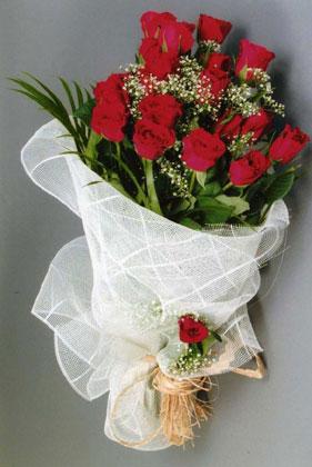 10 adet kirmizi güllerden buket çiçegi  Çankırı cicek , cicekci