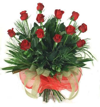 Çiçek yolla 12 adet kirmizi gül buketi  Çankırı online çiçek gönderme sipariş
