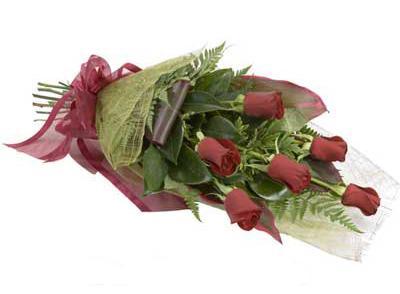 ucuz çiçek siparisi 6 adet kirmizi gül buket  Çankırı çiçek yolla , çiçek gönder , çiçekçi