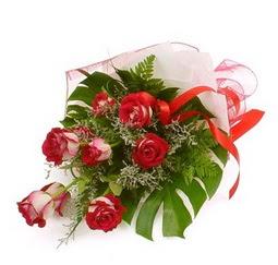 Çiçek gönder 9 adet kirmizi gül buketi  Çankırı çiçek gönderme