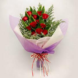 çiçekçi dükkanindan 11 adet gül buket  Çankırı online çiçekçi , çiçek siparişi