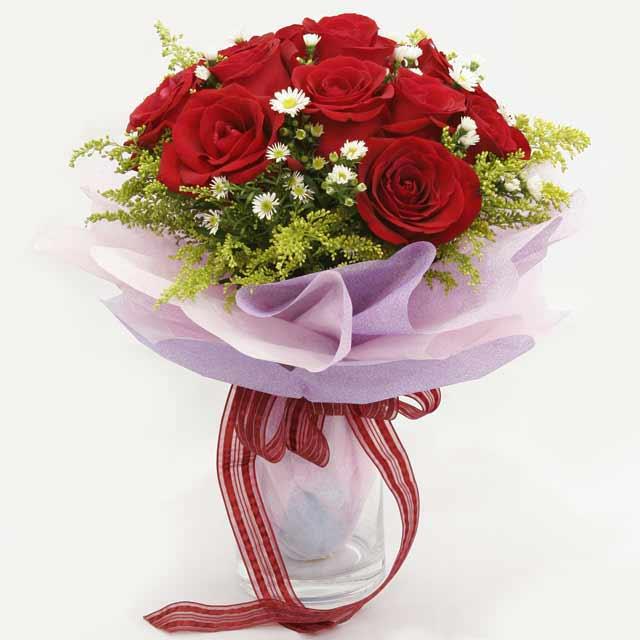 Çiçek gönderme estetikliginiz 11 gül buket  Çankırı online çiçekçi , çiçek siparişi