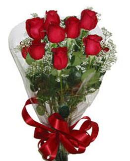 Çiçek sade gül buketi 7 güllü buket  Çankırı çiçekçi telefonları