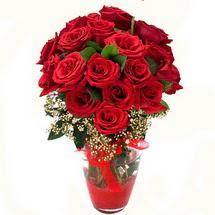 Çankırı çiçek yolla , çiçek gönder , çiçekçi    9 adet kirmizi gül