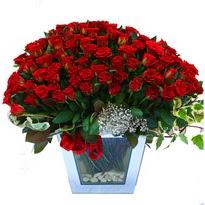 Çankırı çiçek gönderme sitemiz güvenlidir   101 adet kirmizi gül aranjmani