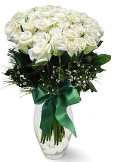 19 adet essiz kalitede beyaz gül  Çankırı çiçek gönderme sitemiz güvenlidir
