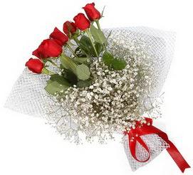 7 adet essiz kalitede kirmizi gül buketi  Çankırı çiçek siparişi sitesi