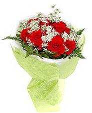 Çankırı kaliteli taze ve ucuz çiçekler  7 adet kirmizi gül buketi tanzimi