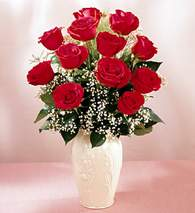 Çankırı online çiçekçi , çiçek siparişi  9 adet vazoda özel tanzim kirmizi gül