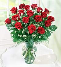 Çankırı İnternetten çiçek siparişi  9 adet mika yada vazoda kirmizi güller