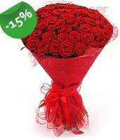 51 adet kırmızı gül buketi özel hissedenlere  Çankırı çiçek yolla , çiçek gönder , çiçekçi