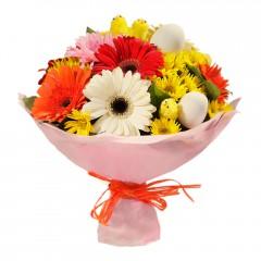 Karışık mevsim buketi Mevsimsel çiçek  Çankırı çiçek yolla