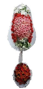 çift katlı düğün açılış sepeti  Çankırı İnternetten çiçek siparişi